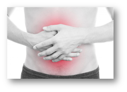 In the case of an inguinal hernia